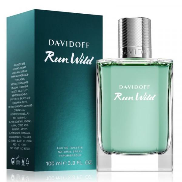 Run Wild - Davidoff Eau de toilette en espray 100 ml