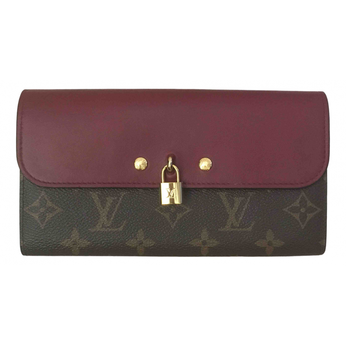 Louis Vuitton Vénus Burgundy Cloth wallet for Women \N