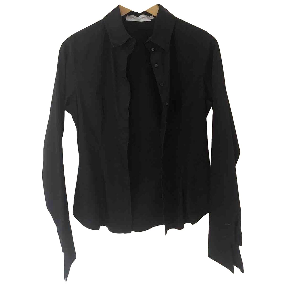 Anne Fontaine - Top   pour femme en coton - noir