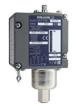 Telemecanique Sensors Air, Hydraulic Oil, Non-Corrosive Fluid Pressure Switch, 2CO 0.07 → 5.2bar, 500 V, 600 V,