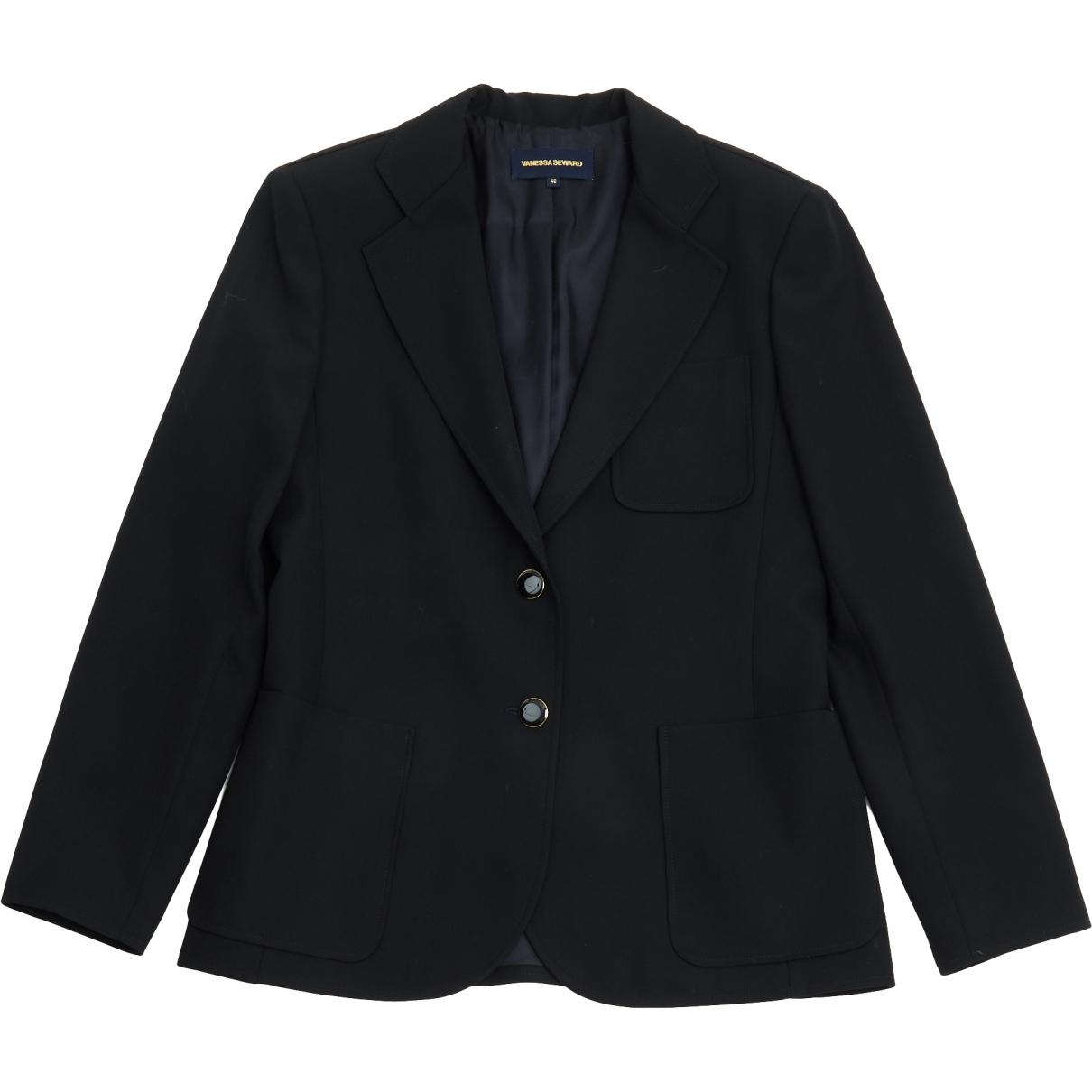 Vanessa Seward - Veste   pour femme en laine - noir