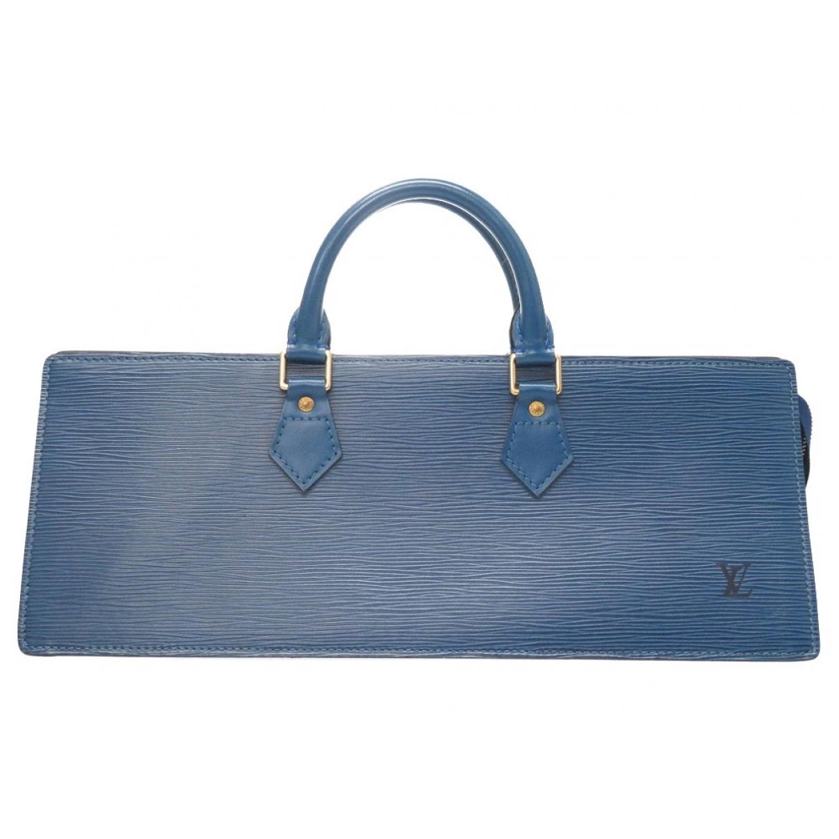 Bolso  Triangle de Cuero Louis Vuitton