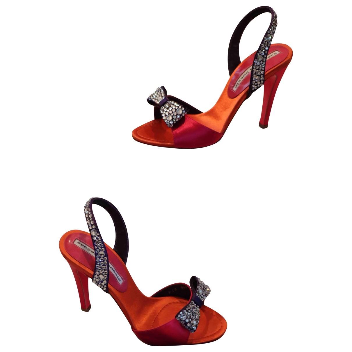 Sandalias romanas de Cuero Suecomma Bonnie