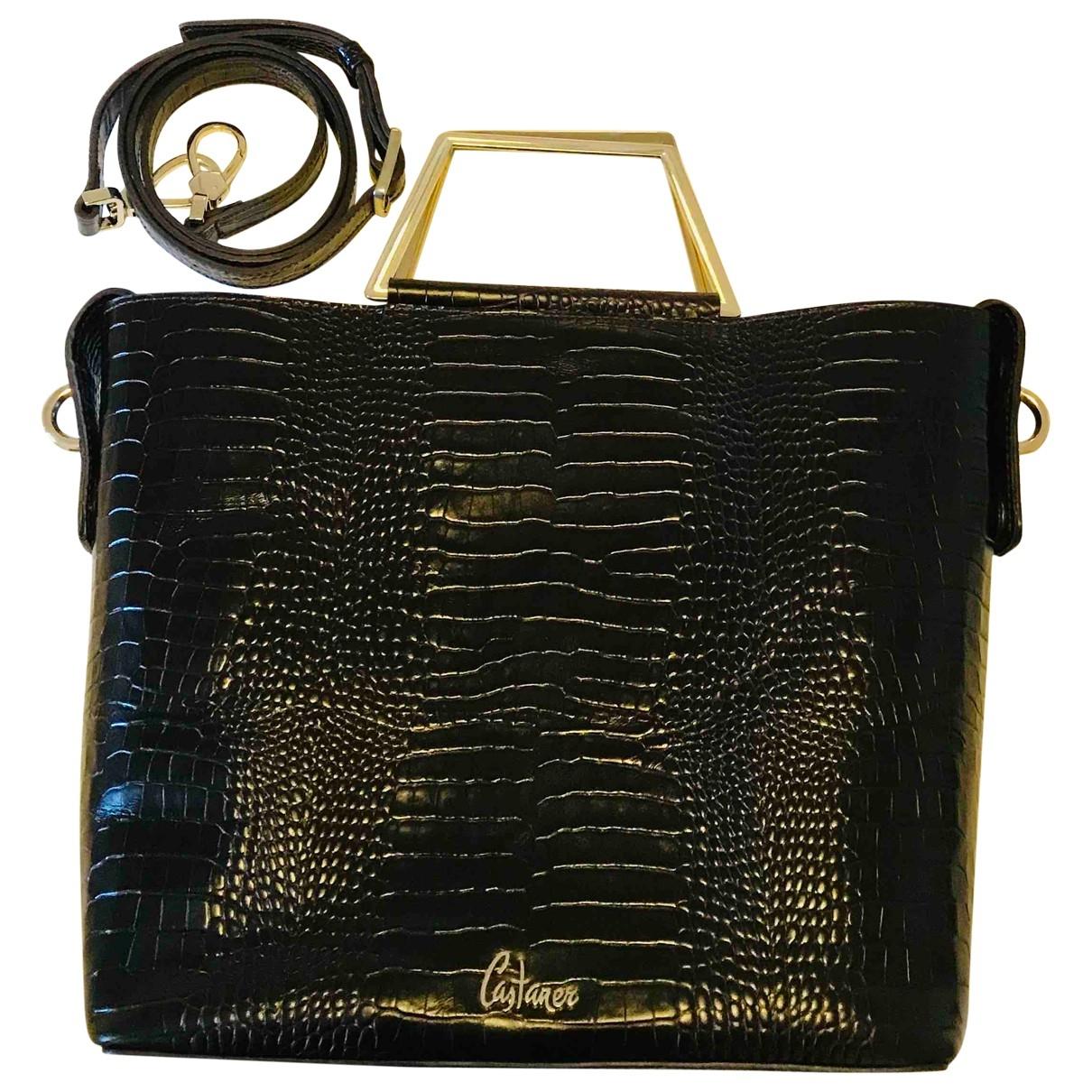Castaner \N Handtasche in  Braun Exotenleder