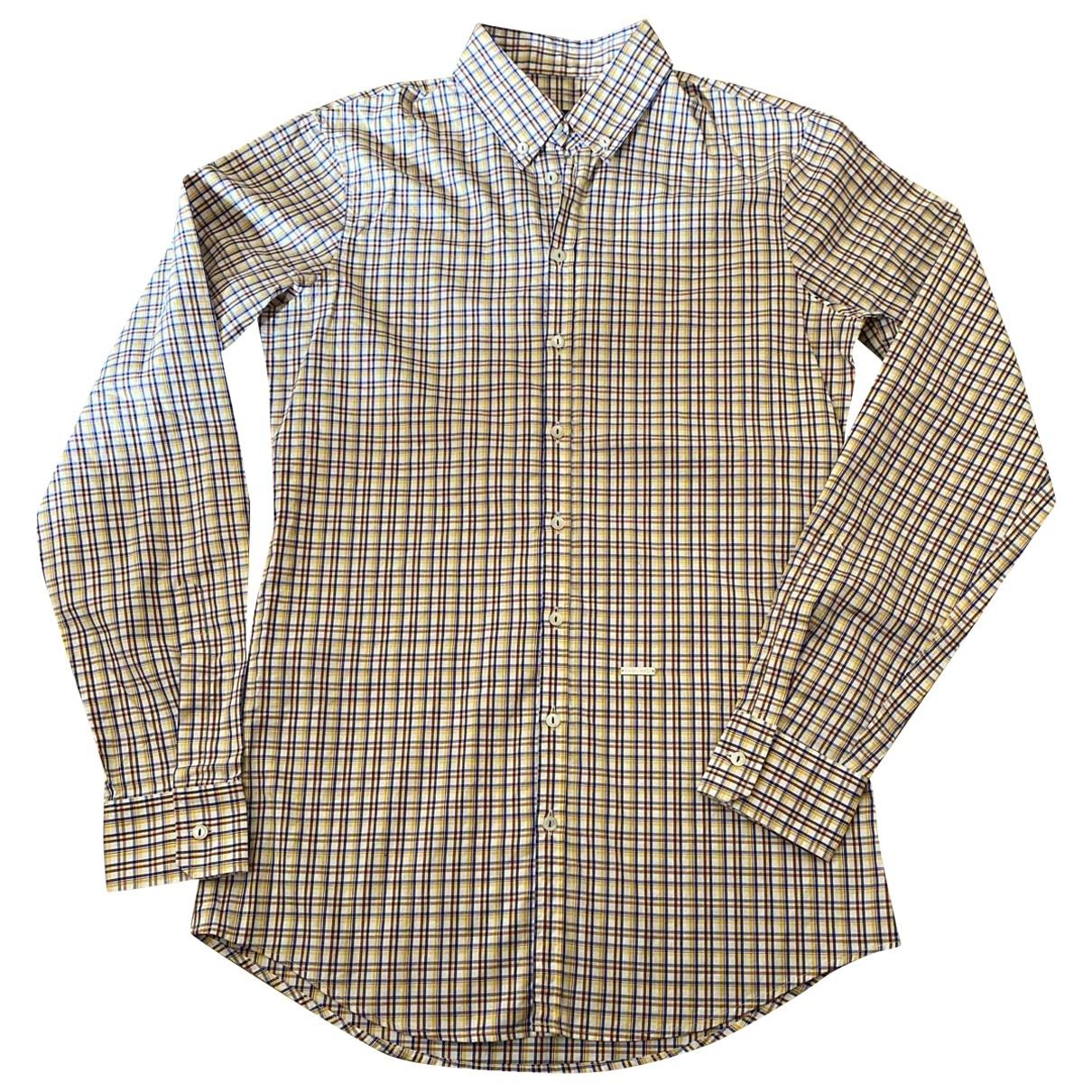 Dsquared2 \N Multicolour Cotton Shirts for Men M International