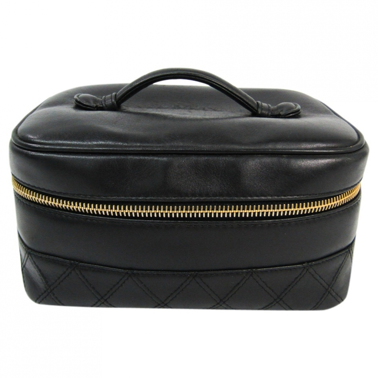 Chanel \N Black Leather Travel bag for Women \N