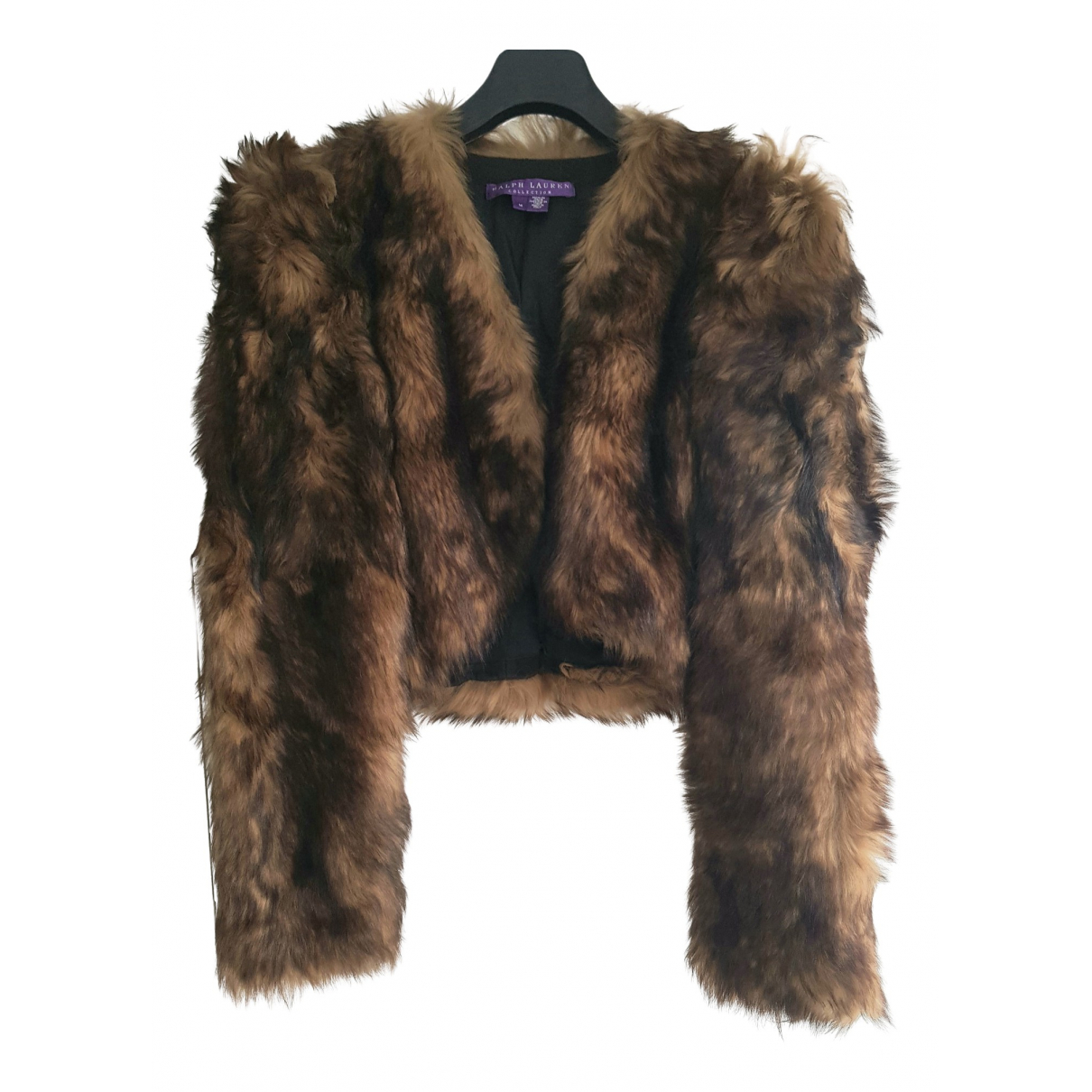 Ralph Lauren Collection N Brown Shearling jacket for Women M International