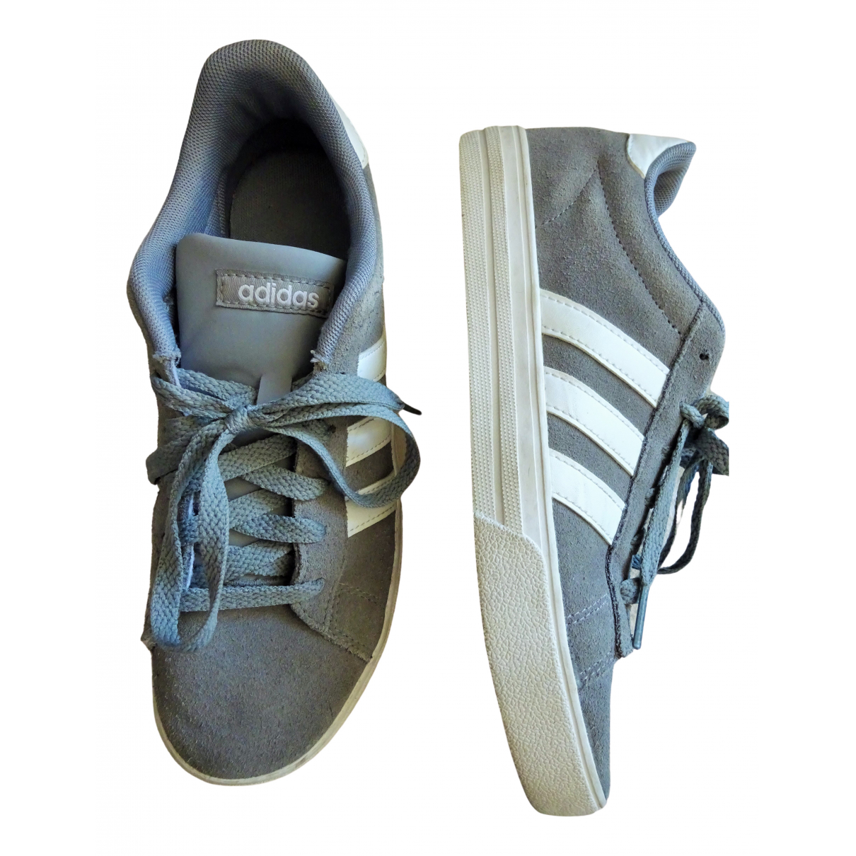 Adidas - Baskets Gazelle pour femme en cuir - gris