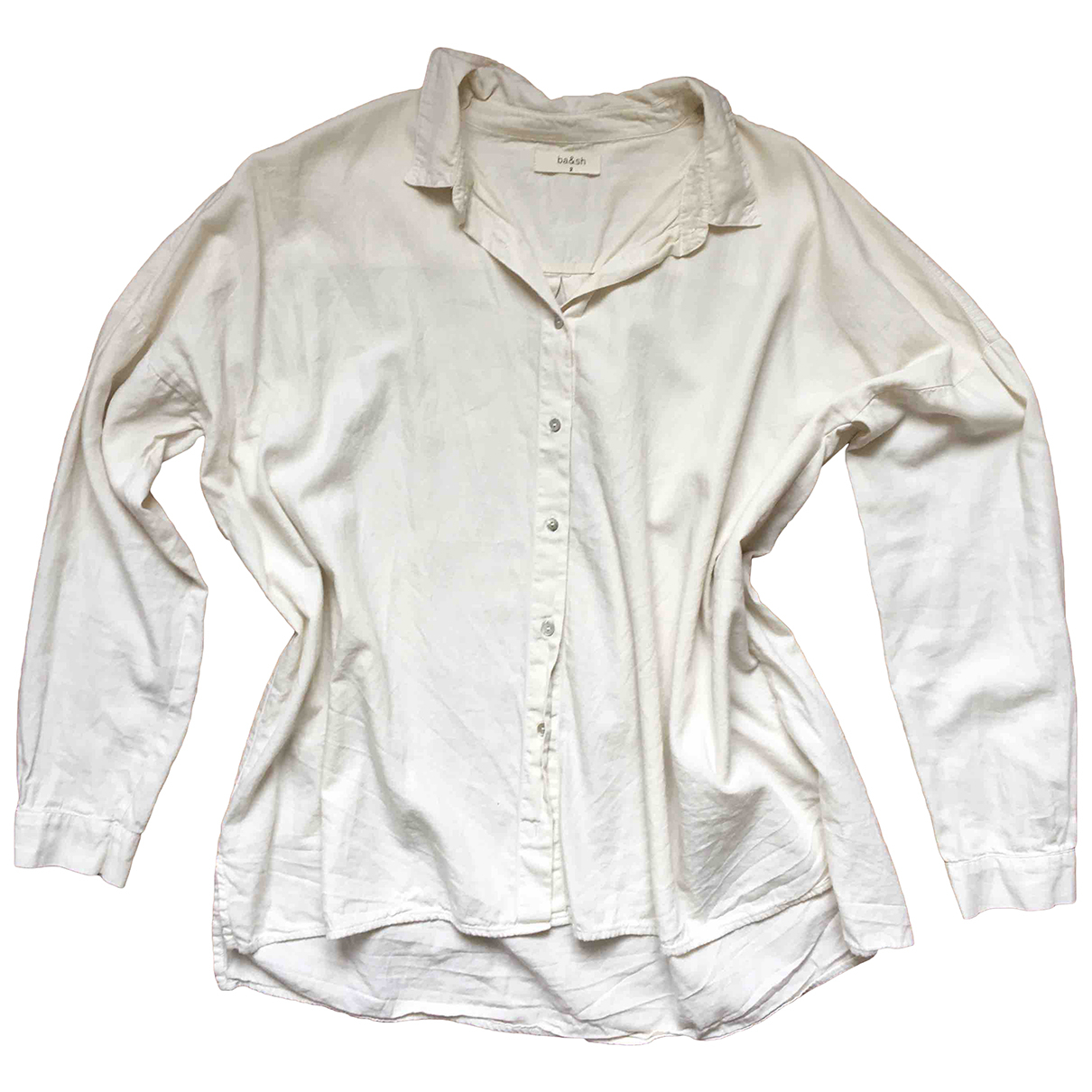 Ba&sh - Top   pour femme en coton - blanc
