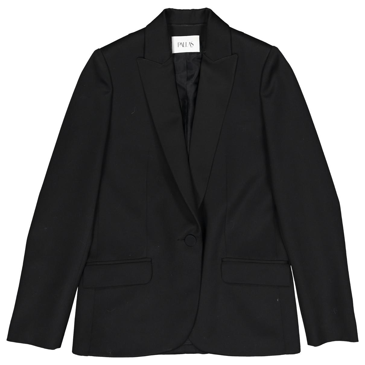 Pallas - Veste   pour femme en laine - noir