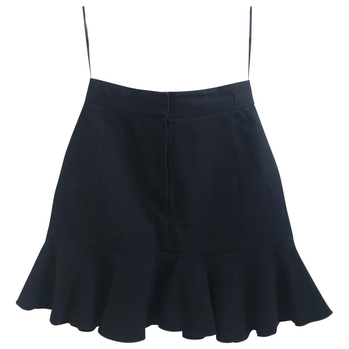 Victoria Beckham - Jupe   pour femme en coton - noir