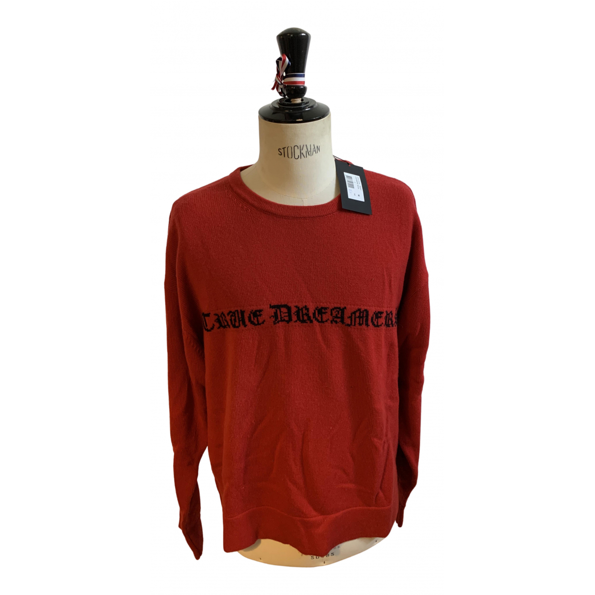 The Kooples \N Pullover.Westen.Sweatshirts  in  Rot Kaschmir
