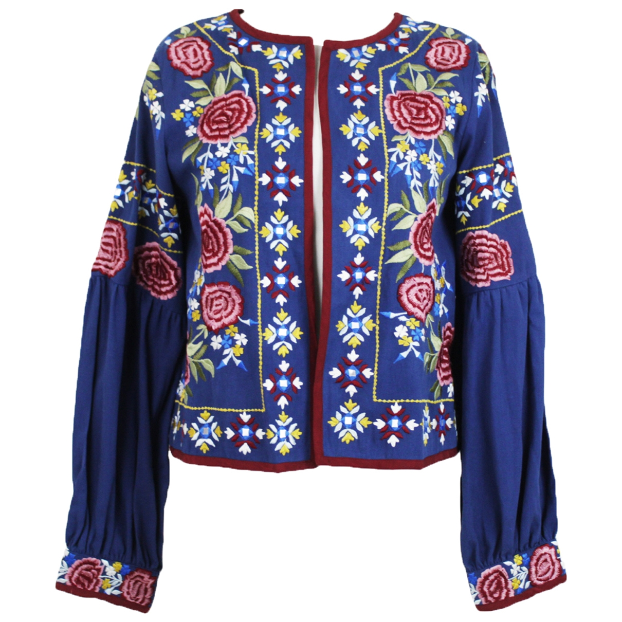 Misa \N Blue Cotton jacket for Women S International