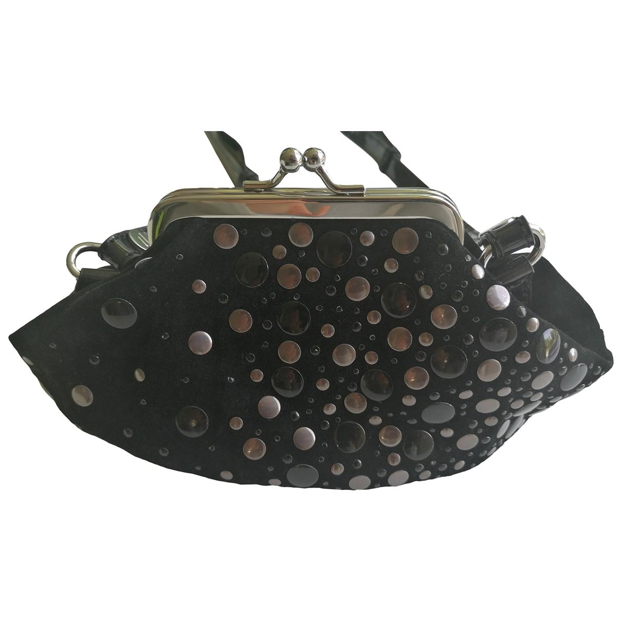 Diesel \N Black Suede handbag for Women \N