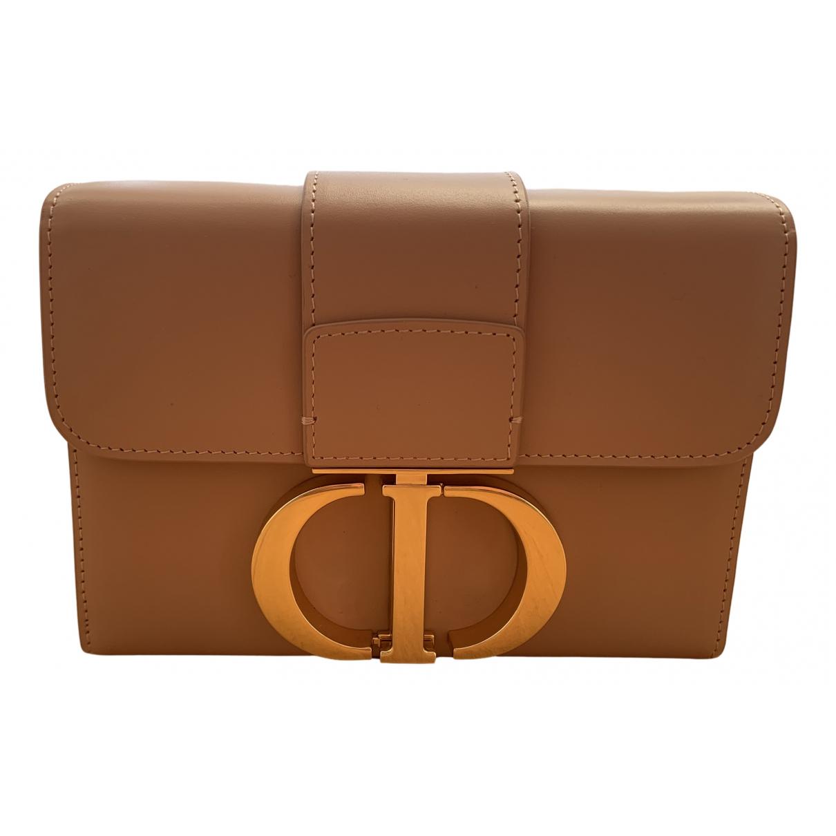 Dior 30 Montaigne Handtasche in  Rosa Leder