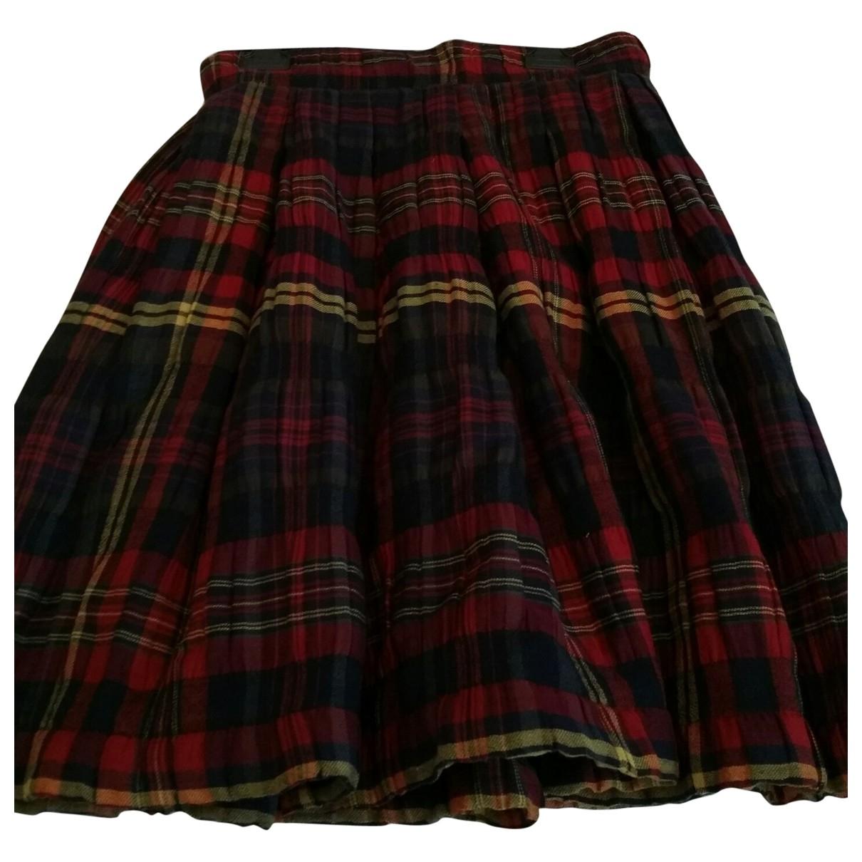 Karl Lagerfeld \N Multicolour Wool skirt for Women 42 FR