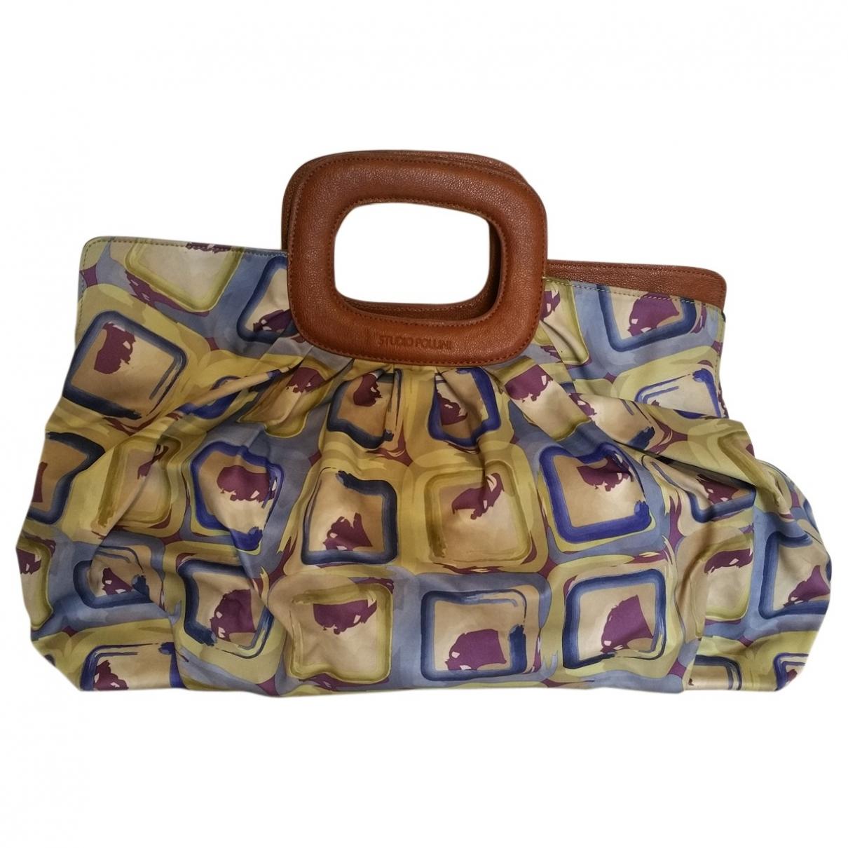 Pollini \N Handtasche in  Bunt Seide