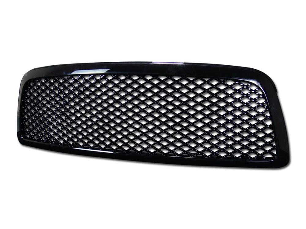 Armordillo 7147775 USA Gloss Black Mesh Style Grille Dodge Ram | Ram 1500 Excl. Mega Cab 2009-2012