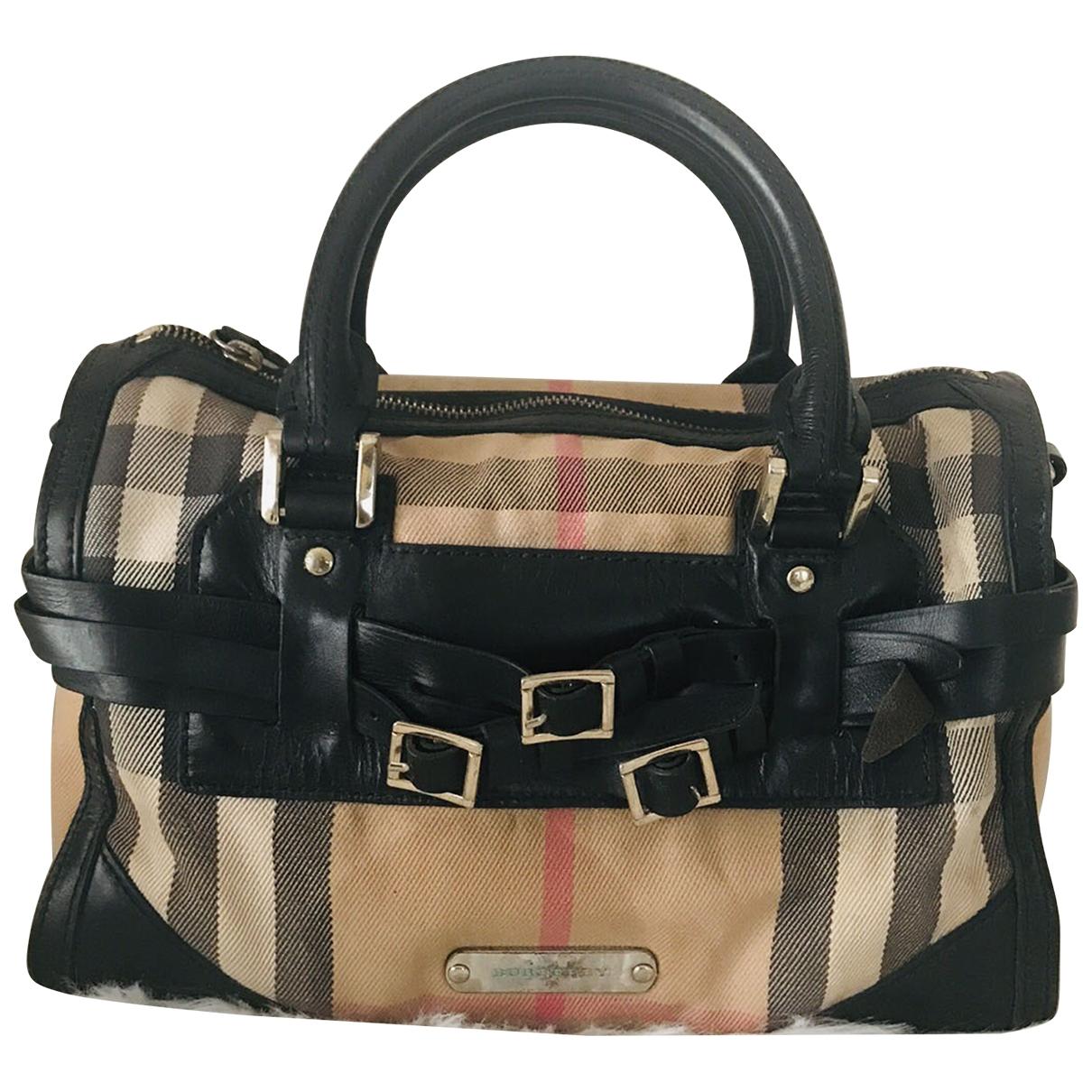 Burberry \N Handtasche in Leinen