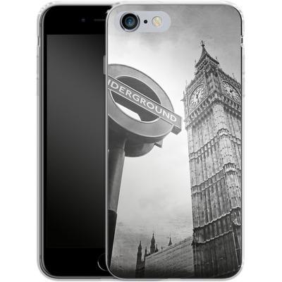 Apple iPhone 6s Plus Silikon Handyhuelle - Big Ben & Underground von Ronya Galka