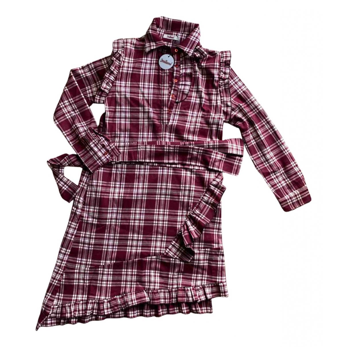 - Robe   pour femme - bordeaux