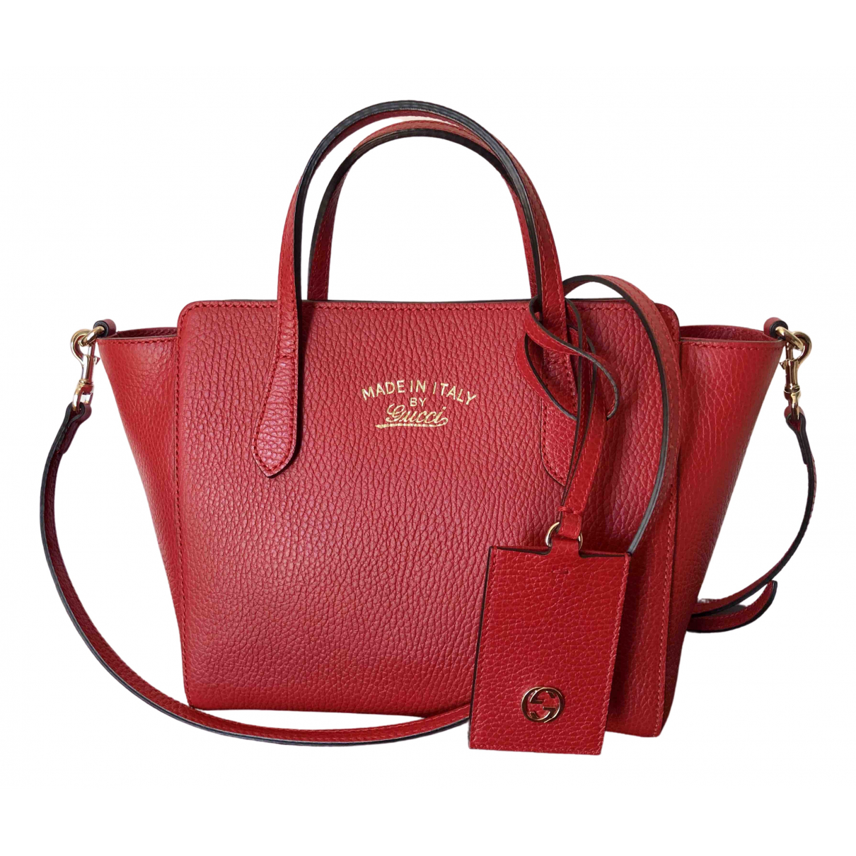 Gucci Swing Red Leather handbag for Women \N