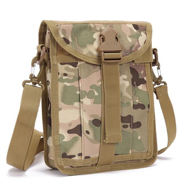 Waterproof Nylon Outdoor Multi-functional Tactical Bag Crossbody Bag For Men