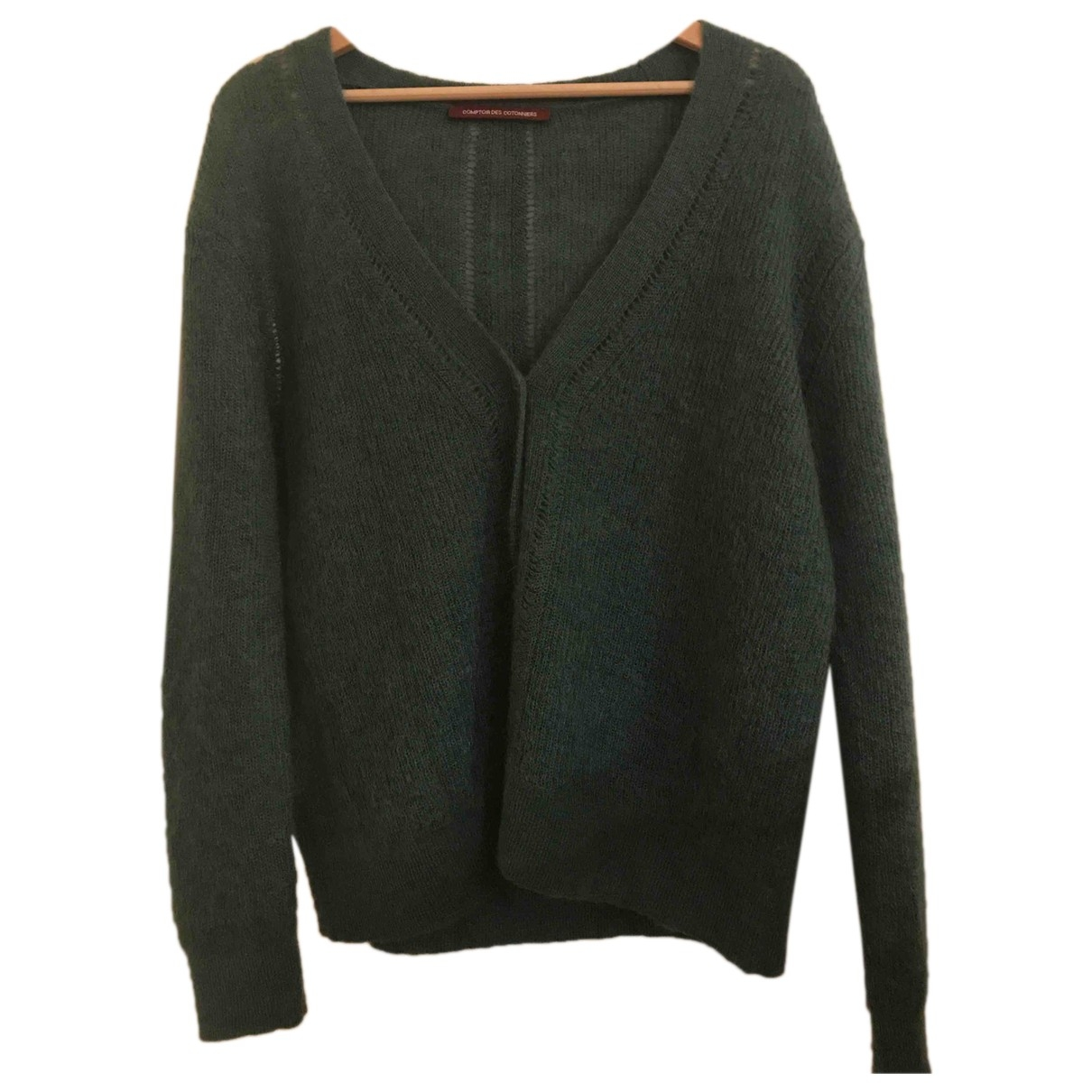 Comptoir Des Cotonniers \N Turquoise Wool Knitwear for Women 42 FR