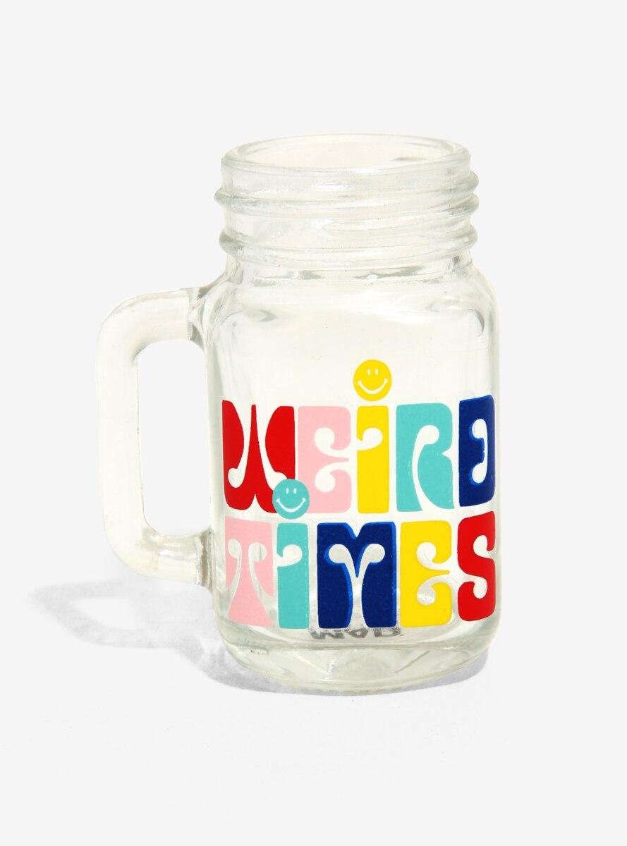 Weird Times Retro Mason Jar Mini Glass - BoxLunch Exclusive