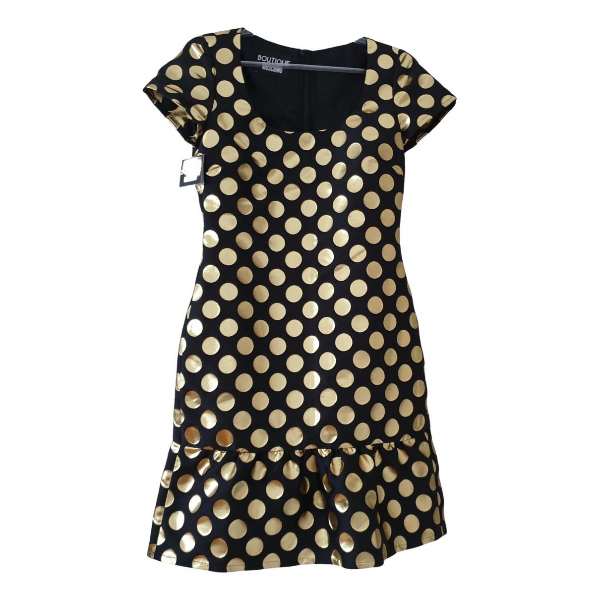 Moschino \N Kleid in  Schwarz Synthetik