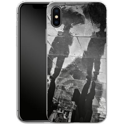Apple iPhone X Silikon Handyhuelle - It Must Be Monday Morning von Ronya Galka