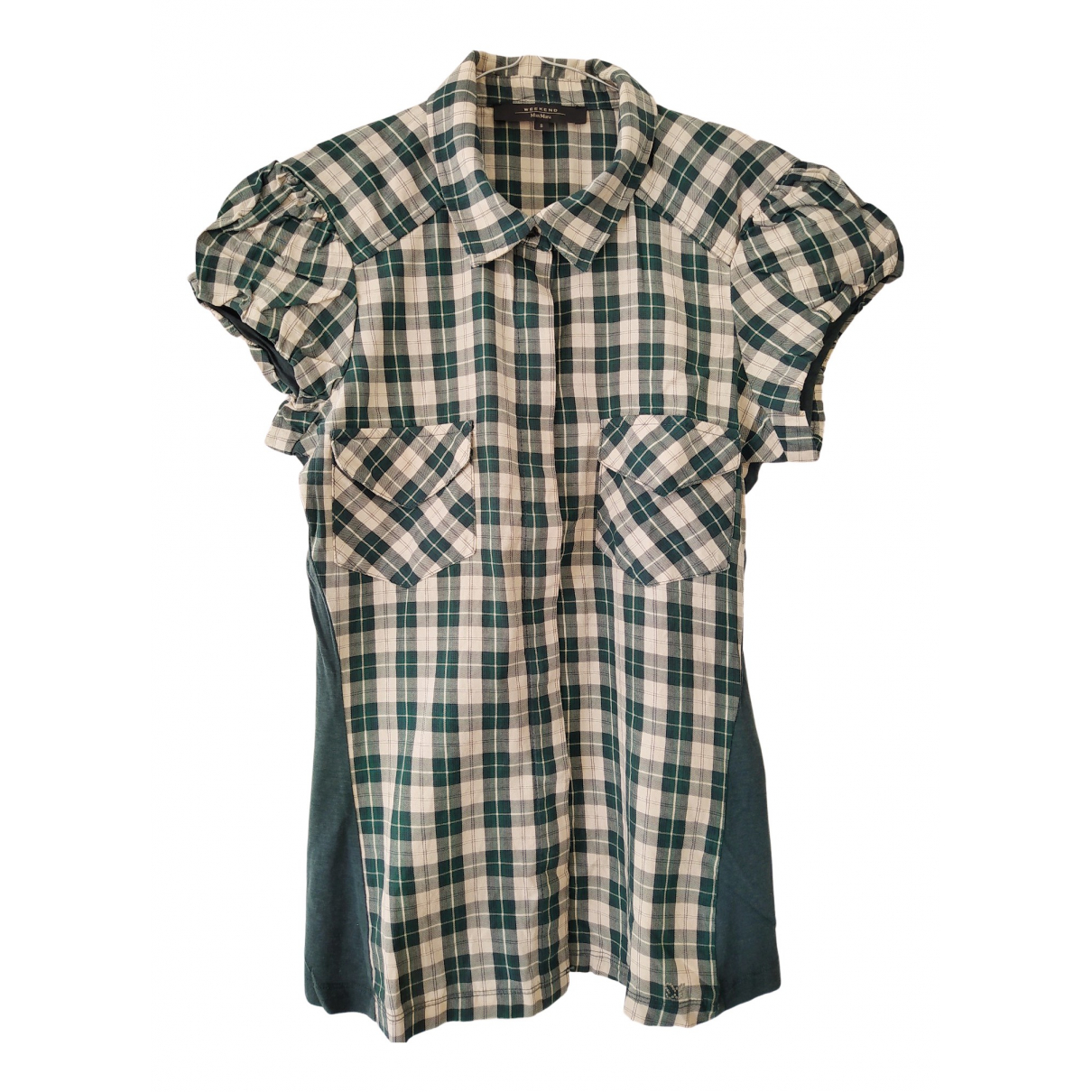Max Mara Weekend N Green Cotton  top for Women 42 IT