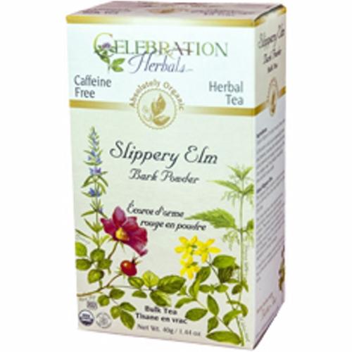 Organic Slippery Elm Bark Powder Tea 40 grams by Celebration Herbals