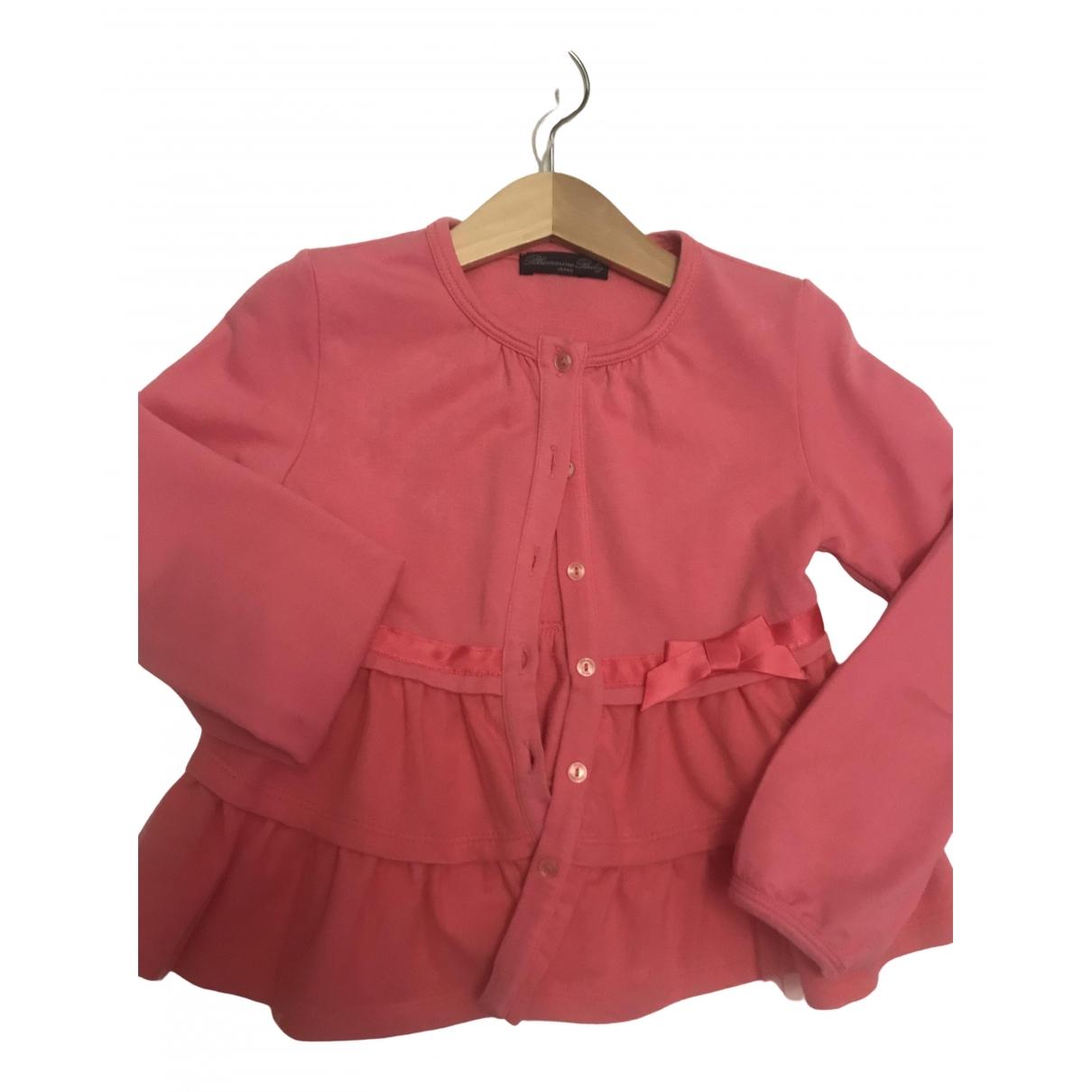 Blumarine - Pull   pour enfant en coton - rose