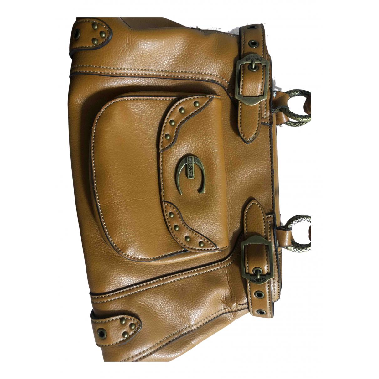 Just Cavalli N Khaki Leather handbag for Women N