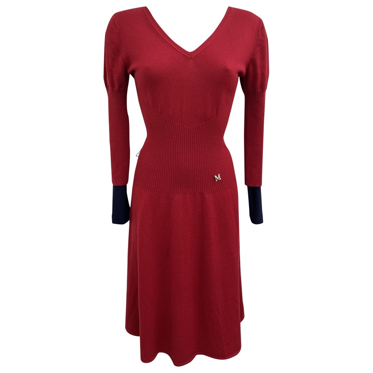 Max Mara Max Mara Atelier Red Wool dress for Women M International