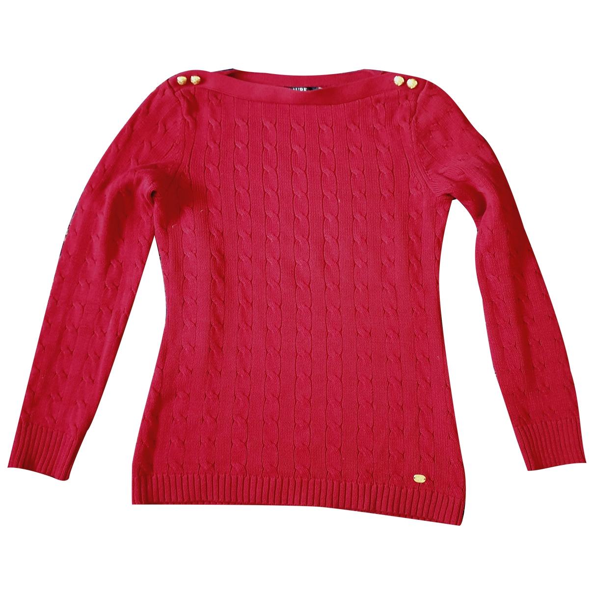 Lauren Ralph Lauren \N Red Cotton Knitwear for Women M International