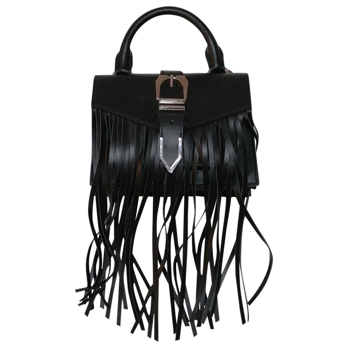 Versus \N Black Leather handbag for Women \N