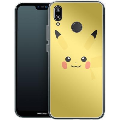 Huawei P20 Lite Silikon Handyhuelle - Pikachu by Lucian Foehr von Lucian Foehr