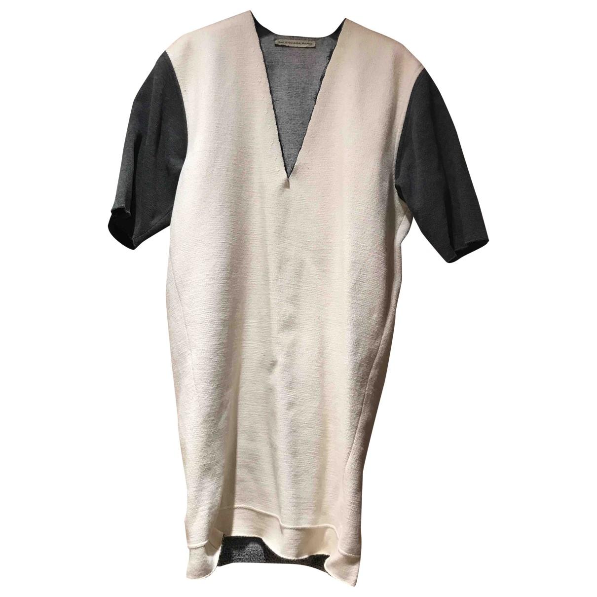 Balenciaga - Robe   pour femme en coton - multicolore