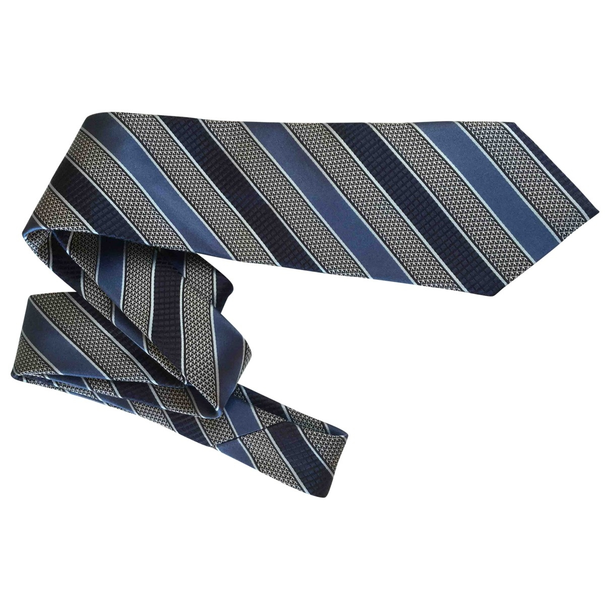 Ermenegildo Zegna \N Silver Silk Ties for Men \N
