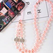 Handy-Tragegurt mit Perlen