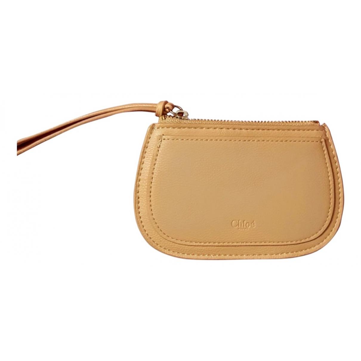 Chloé \N Beige Purses, wallet & cases for Women \N
