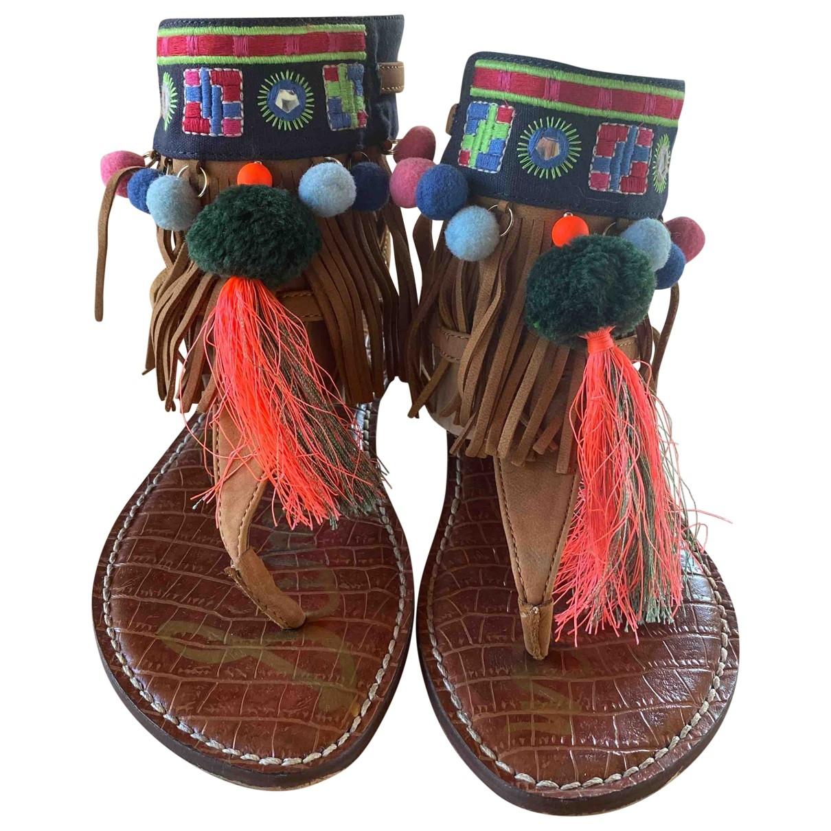 Sam Edelman \N Multicolour Leather Sandals for Women 7.5 US