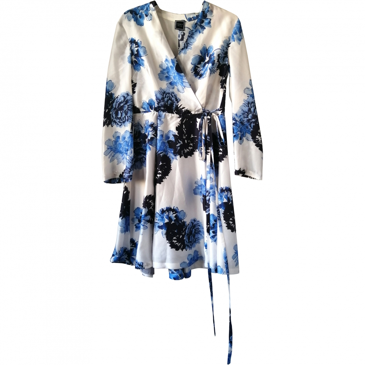 Non Signé / Unsigned \N Multicolour Silk dress for Women M International
