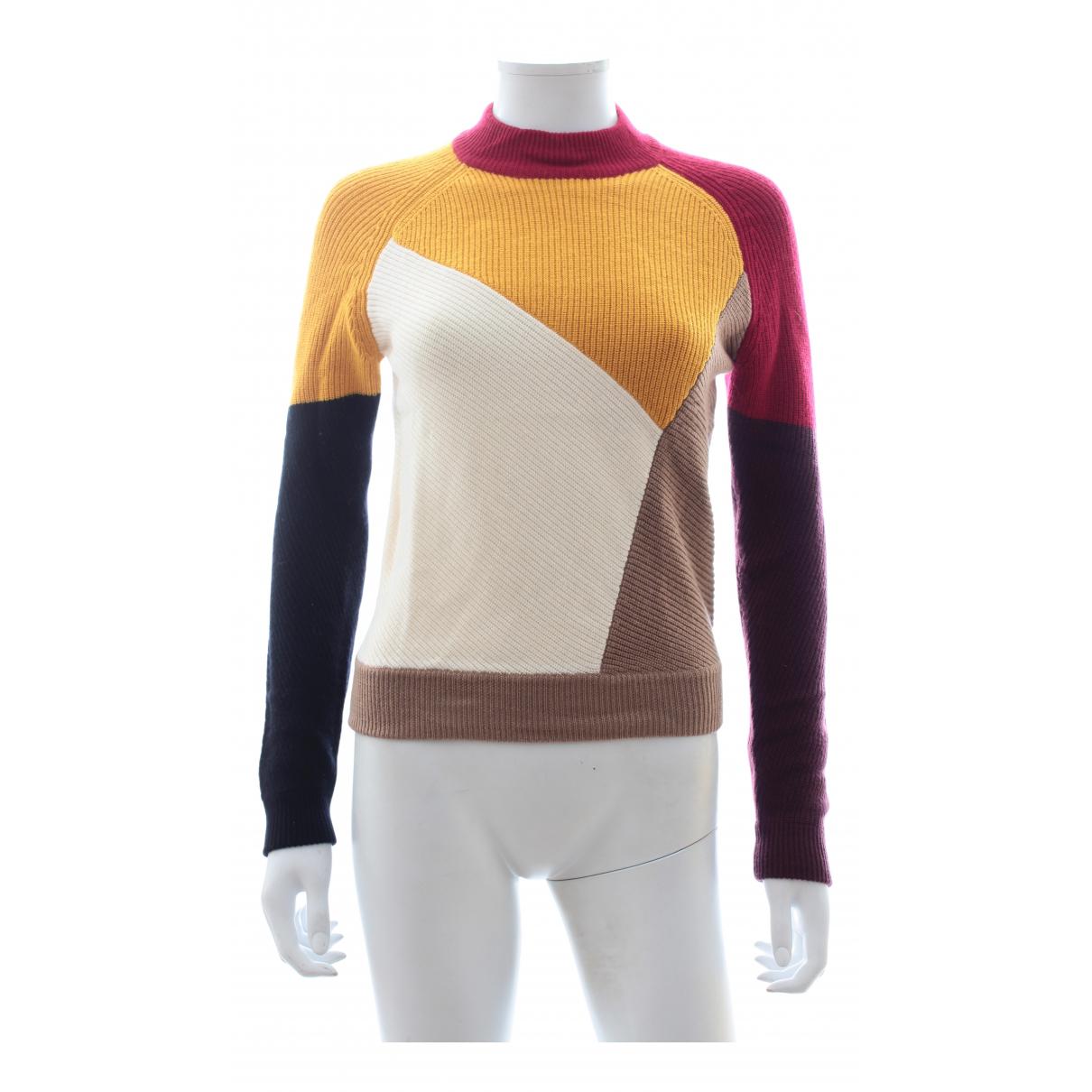 Carven - Pull   pour femme en laine - multicolore