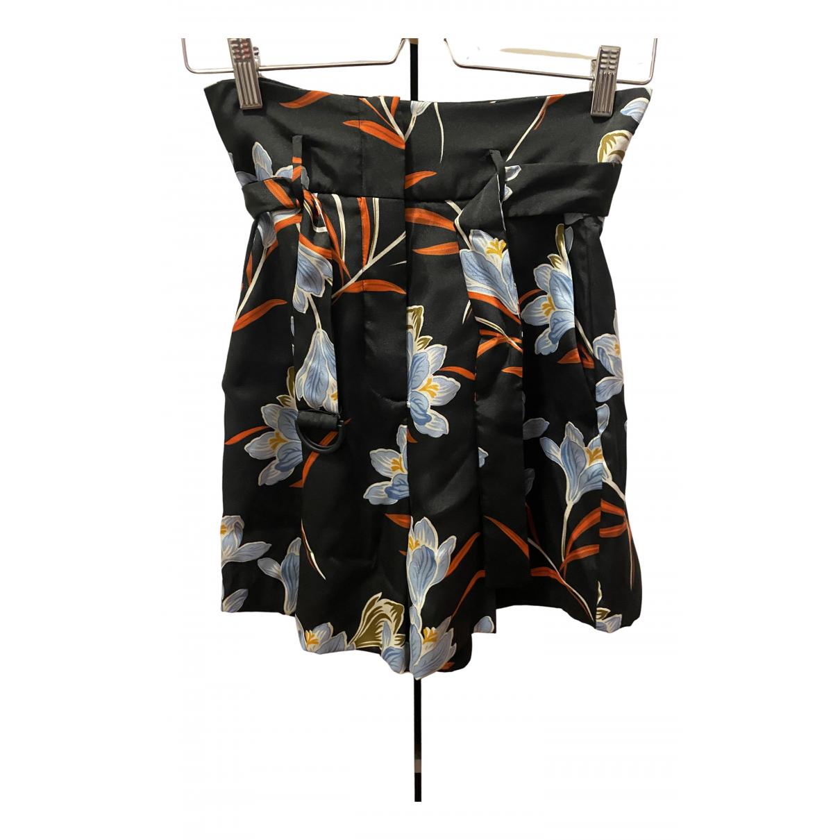 Mango \N Shorts in  Bunt Polyester