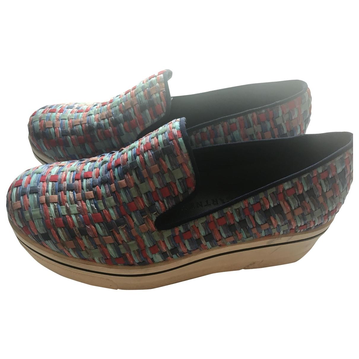 Stella Mccartney \N Sneakers in  Blau Leinen