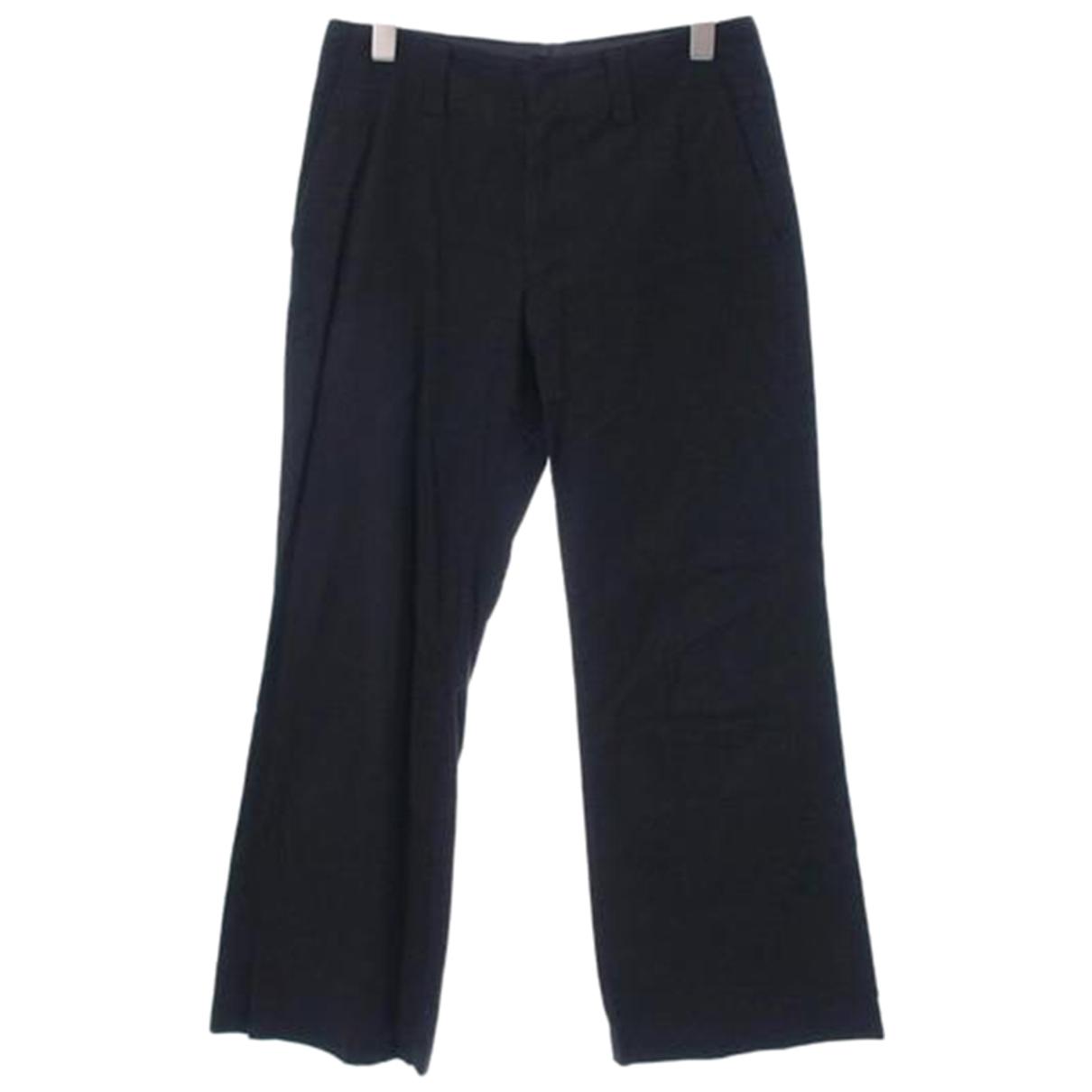 Junya Watanabe N Black Cotton Trousers for Women M International