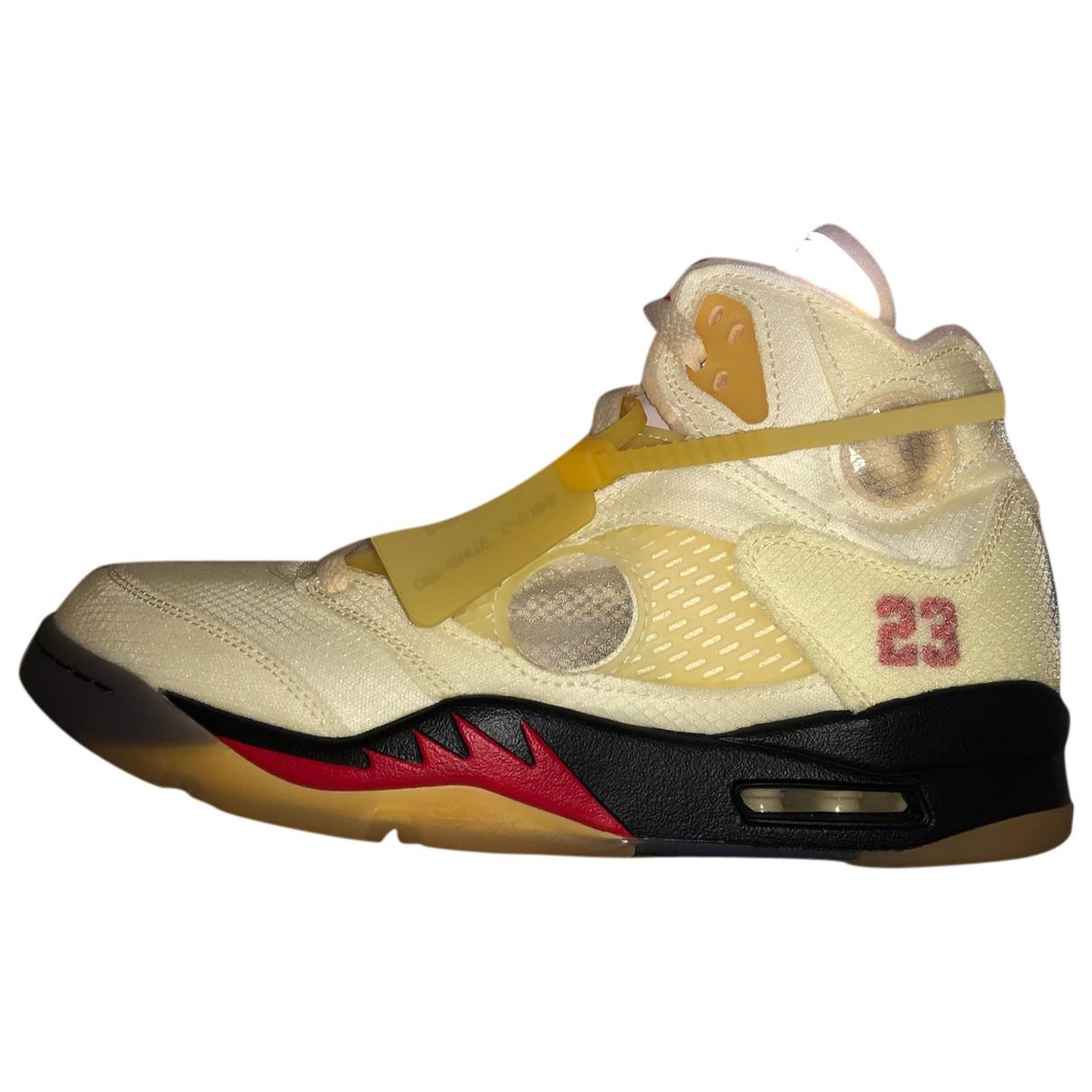 Jordan - Baskets   pour homme en autre - beige